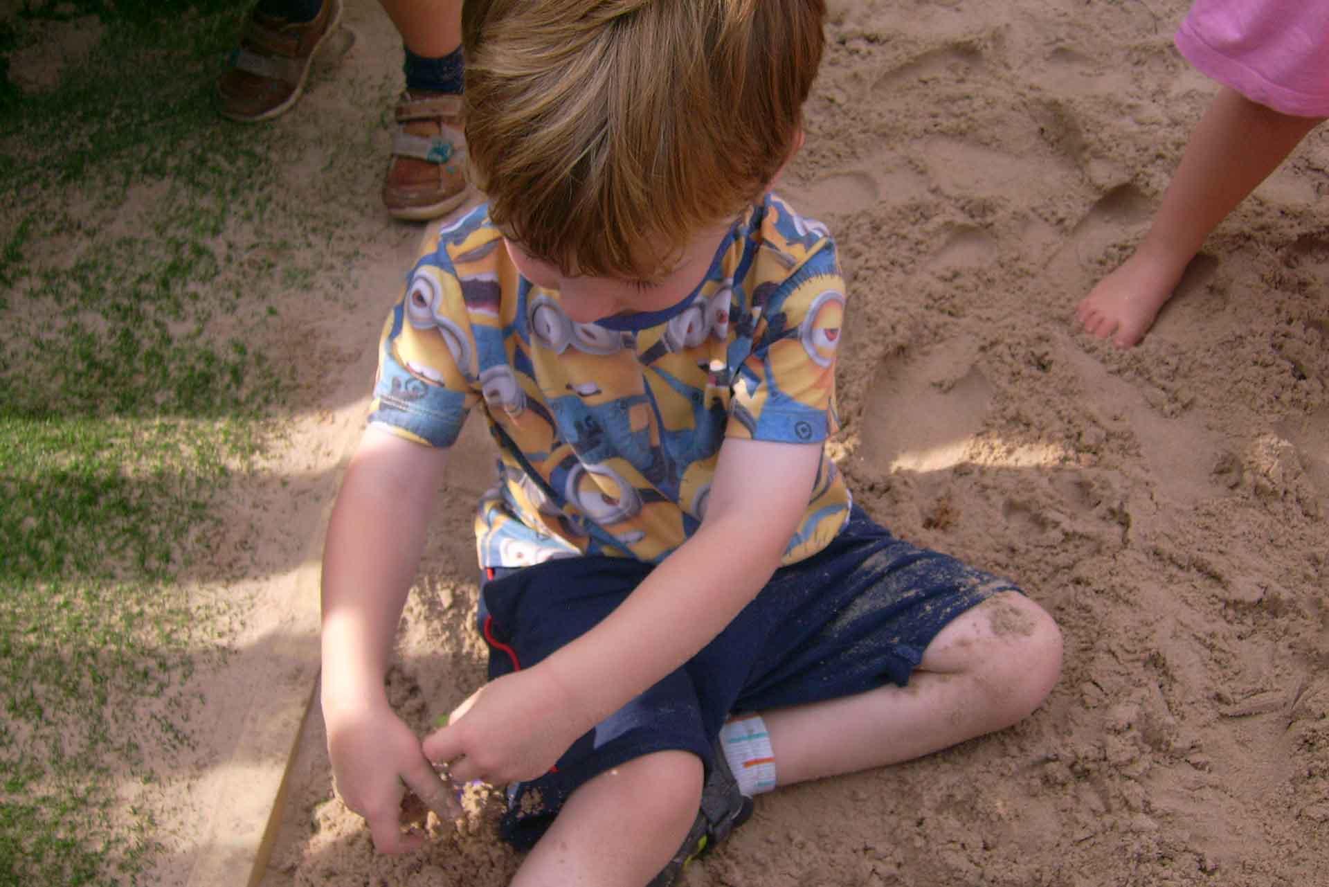 Sandpit Starfish Childrens Day Nursery Farnham